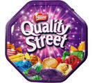 Contains assorted Quality Street Premium chocolates (450 gm)