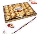 24 Pc Ferrero Rocher with Rakhi
