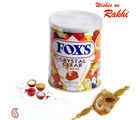 Sweet Treat FOX candy Box with Rakhi