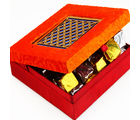 Orange Laser Chocolate Box