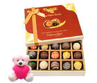 Chocholik Flavourful Chocolates Collection With Teddy - Belgium Chocolates