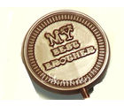 Set Of 4 Best Brother Chocolate Lollies, set of 4