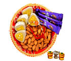 Sweet and Chocolate Thali Combo - GAITHALI143SP1622, only rakhi