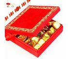 Rakhi With Red Satin Box