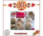 1 Rakhi with Haldiram Kaju Ladoo 400 grams