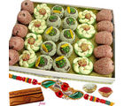 Kaju Dry Fruit Mix Sweets Mithai Hamper