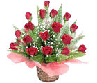 Glorious Roses Basket