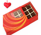 Red Chocolate Roses Box