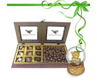 Classy Combination Of Milk Cashew And Chocolates With Combo From Chocholik Belgium Gifts