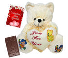 Valentine Wishes: My Heart For You With Chocolate Treat