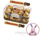 Ferrero Rocher and Toblerone with free Teddy (300 gm)