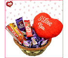 Basket Full of Chocolaty Love