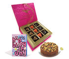 Chocholik Belgium Chocolate Gifts - Pampered Birthday treat