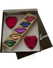 Hearts And Lips for people IN LOVE Chocolates