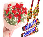 Special Treat With Flower Bunch