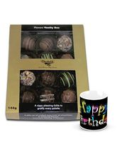 Chocholik Exotic Treat Of Assorted Truffles With B...