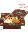 Wooden Handcrafted Dryfruit Box