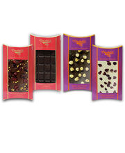 Chocholik Belgium Chocolate Gifts - Fiery, Crunchy And Zesty Belgian Chocolate Bars Combo