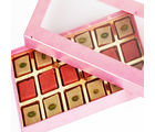 Ghasitaram Strawberry Squares In Pink Box