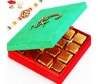 Om Green Chocolate Box