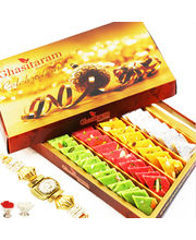 Ghasitaram's Special Assorted Katli box with Free Rakhi