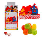 Angry Birds Rakhi with Jelly Candies - GAIK6, only rakhi