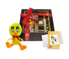 Chocholik Belgium Chocolate Gifts - Delightful Collection of Chocolates and an Adorable Tweety Pie