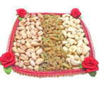 Square Dry Fruit Thali (150 gm)