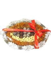 Royal Dry Fruit And Truffle Platter From Chocholik Belgium Gifts