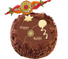 Rakhi Chocolate Cake