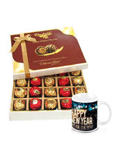 Chocholik Totally Truffles Gift Box Packing With N...