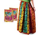Jaipuri Floral Design Cotton Lehnga Skirt Holi Gift