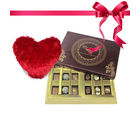 Stunning Collection Of Truffles And Chocolates With Heart From Chocholik Belgium Gifts