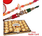 Rakhi Celebration with Ferrero rocher 24 Pcs