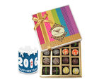 Chocholik New Year Pretty Gift Box Hamper With New Year Mug - Belgium Chocolates