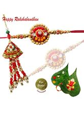 Traditional Lumba Rakhi set