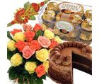 Rakhi Delicious Flower Hamper