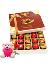 Chocholik The Gift Of Elegance Gift Box With Teddy...
