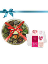 18pc Classic Collection Of Truffles With Card - Chocholik Belgium Choc...