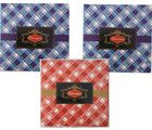 Stylish 150gms Chocolate Check design Pack(set of 3) - Dry Fruit Collection
