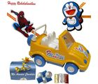 Kids Rakhi Hamper With Toy Jeep N Chocolates