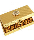 Golden Cashew Box