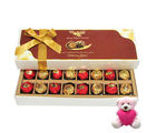 Chocholik Delightful Love Surprise With Teddy - Luxury Chocolates