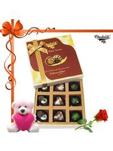 Chocholik 9pc Divine Treat To Your Brother With Ro...