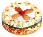 Ghasitarams Orange Dryfruit Mithai Cake (250 gm)