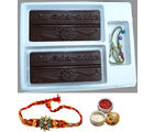 Rakhi Wishes Chocolates Rakhi Gift for Brother