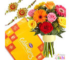 Perfect Celebration With Flower Bunch