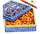 Blue Shining Badaam Box, 300 gms