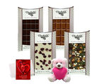 Chocholik Bond Of Love Of Yummy Chocolates Bars With Teddy And Love Card
