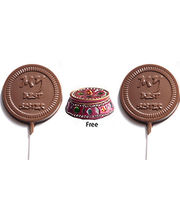 Set Of 2 Lollies - My Best Sister Chocolates Rakhi Gift For Sister